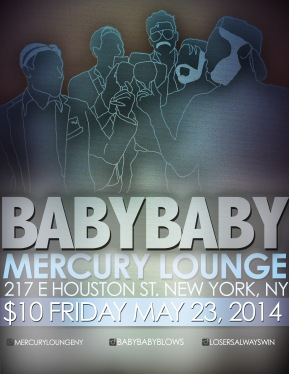mercury lounge flyer