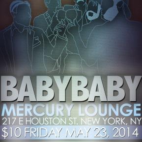mercury lounge flyer