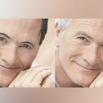 retouch old guy side by side